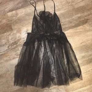 Black Victoria's Secret chemise